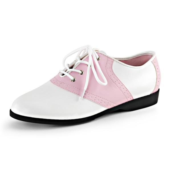 Funtasma Schuhe zum Petticoat Saddle-50 babypink/weiß
