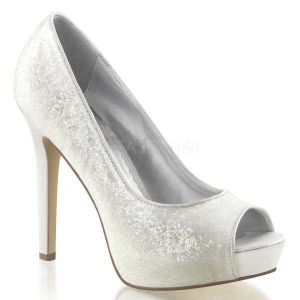 SALE! Fabulicious High Heel-Pumps Lumina-27G ivory