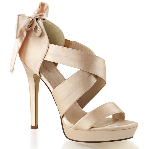 SALE! Fabulicious Damen High Heel Sandalette Lumina-29 champagne