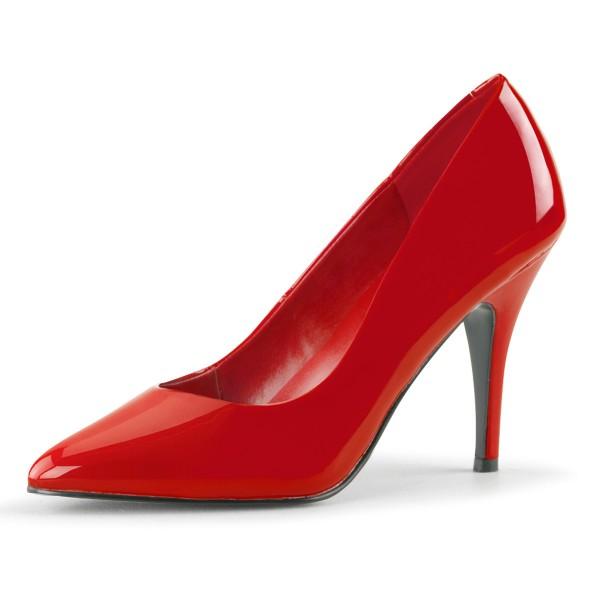 PleaserUSA Damen High Heel-Pumps Vanity-420 rot