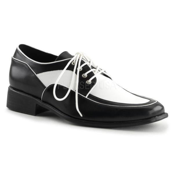 SALE! Funtasma Herren Kostüm Schnürer Loafer-04 schwarz/weiß Gr. 45