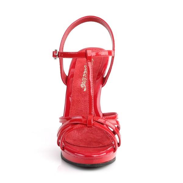 Fabulicious Damen Riemchen Sandaletten Flair-420 Lack rot