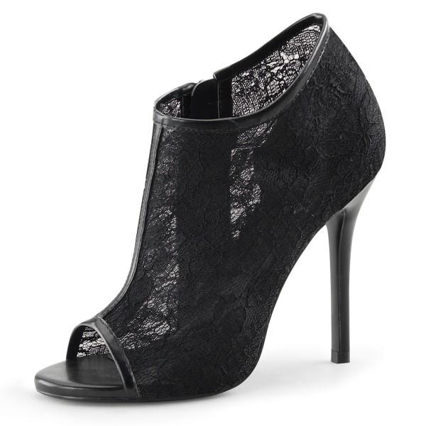 Fabulicious High Heel-Booties Amuse-56 schwarz