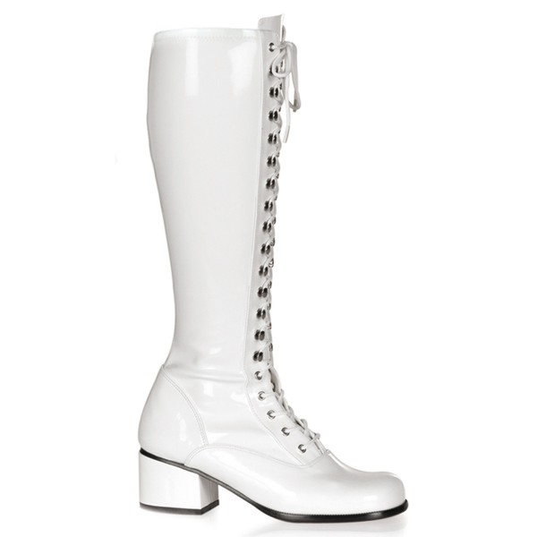 Funtasma Kostüm-Stiefel Retro-302 weiß