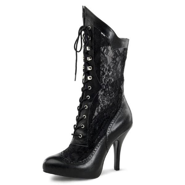 Funtasma Weitschaft Barock- und Renaissance-Stiefel Victorian-116X schwarz