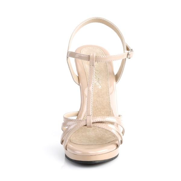 Fabulicious Damen Riemchen Sandaletten Flair-420 Lack nude