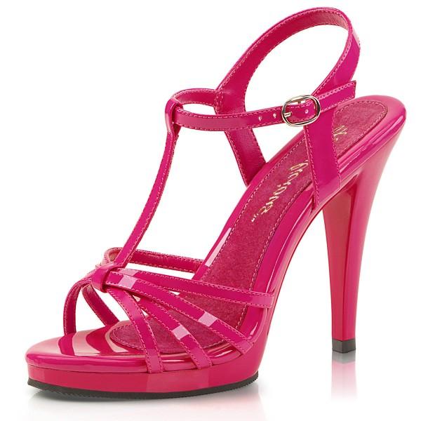 Fabulicious Damen Riemchen Sandaletten Flair-420 Lack hot pink