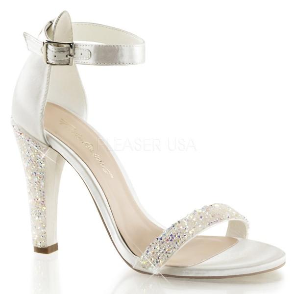 SALE! Fabulicious Damen High Heels Sandaletten Clearly-436 ivory Gr. 39