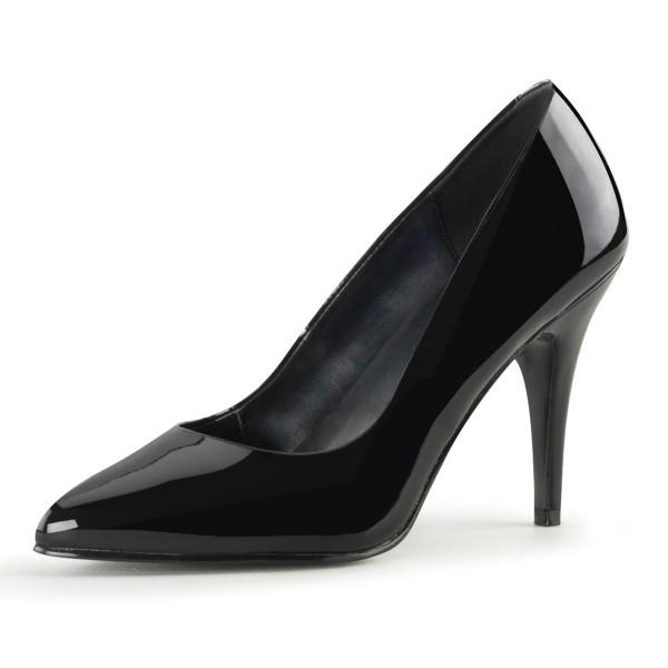 PleaserUSA High Heel-Pumps Vanity-420 Lack schwarz