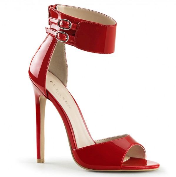 PleaserUSA High Heels-Sandaletten Sexy-19 rot