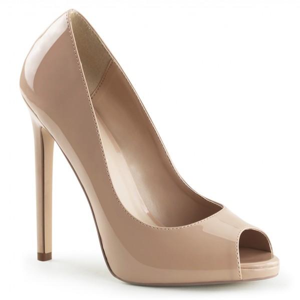PleaserUSA High Heels Pumps Sexy-42 Lack nude