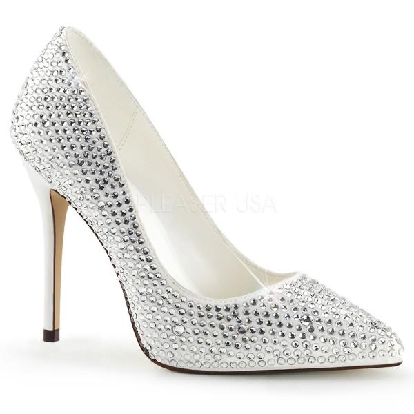 SALE! Fabulicious Damen High Heel Pumps Amuse-20RS ivory Gr. 38