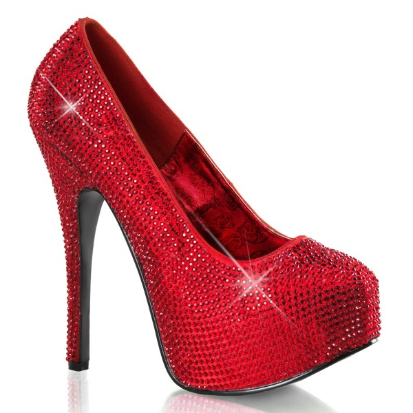 Bordello InStyle-Pumps Teeze-06R rot