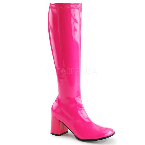 Funtasma Stiefel Gogo-300UV neon-pink