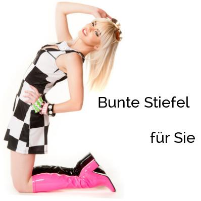 Bunte Stiefel für Sie | Halloween Karneval Fasching | Higher