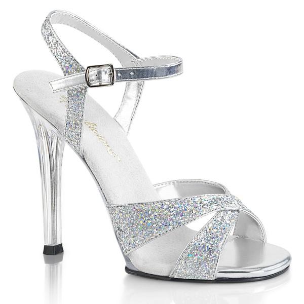 SALE! Fabulicious Damen High Heel Sandaletten Gala-19 silber