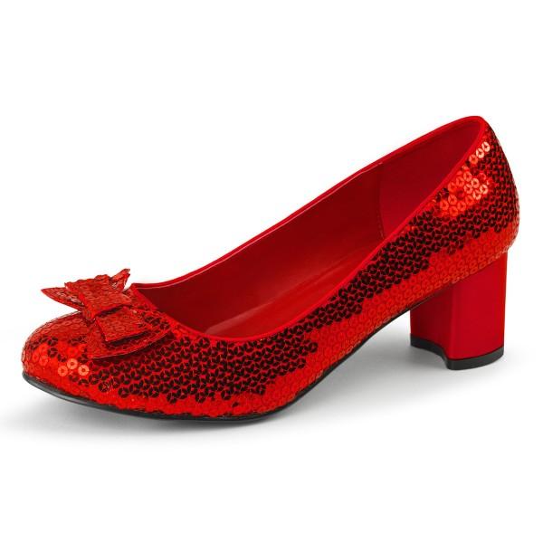Funtasma Dorothys rote Glitzerschuhe Dorothy-01 rot