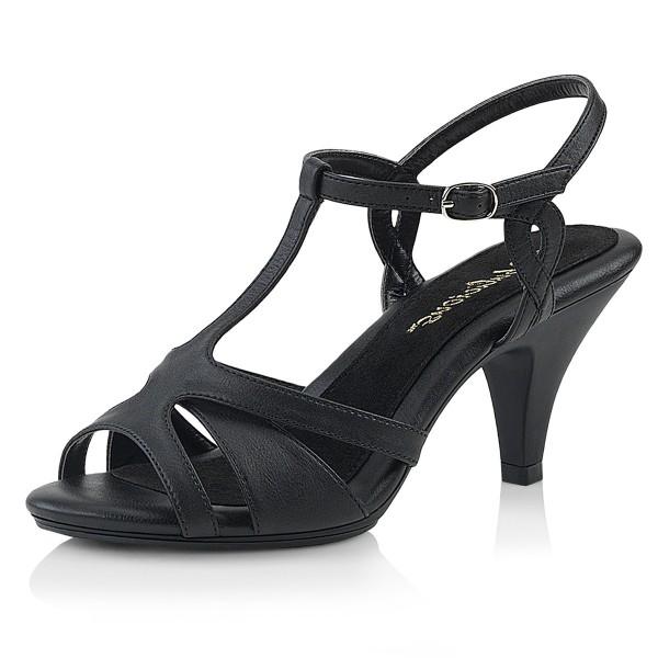Fabulicious Damen Sandalen Sandaletten Belle-322 mattschwarz